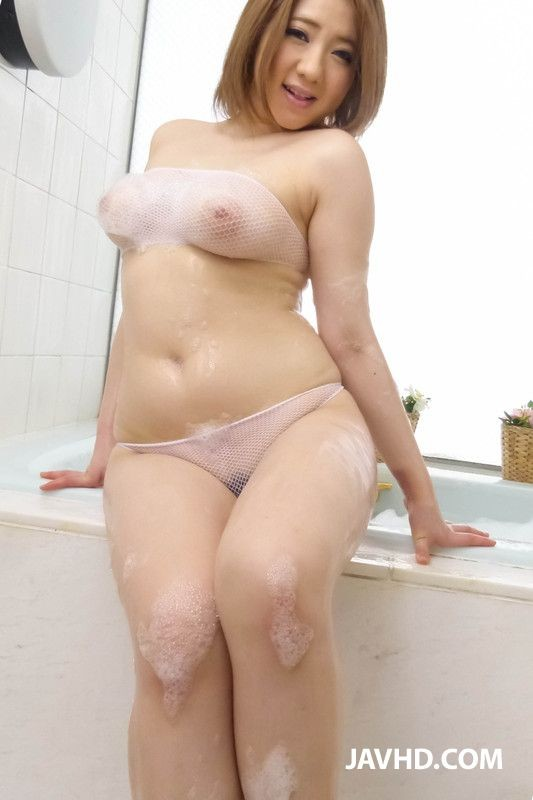 Busty Japanese Teen Wet